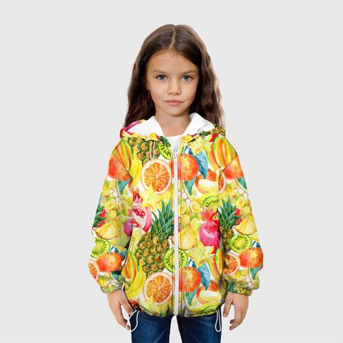 Детская куртка 3D  Фото 04, Веселые фрукты 1