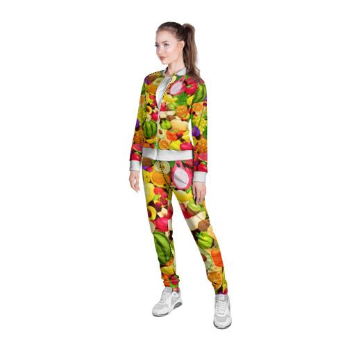 Женская олимпийка 3D  Фото 05, Веселые фрукты