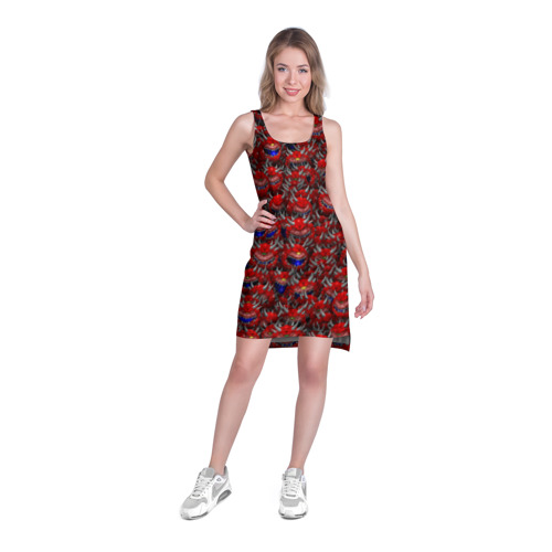 Платье-майка 3D  Фото 03, Какодемоны (pixel-art)