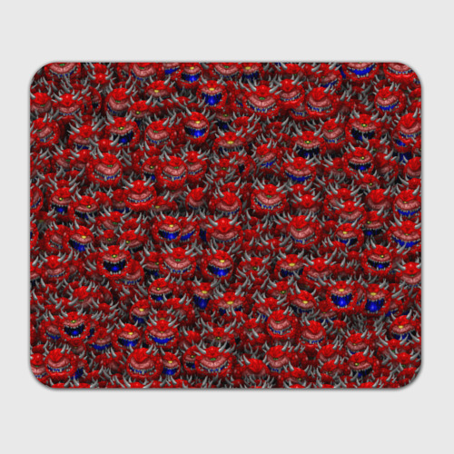 Коврик для мышки прямоугольный  Фото 01, Какодемоны (pixel-art)