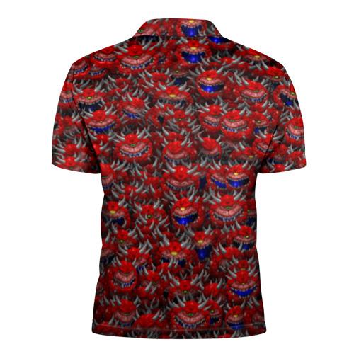 Мужская рубашка поло 3D  Фото 02, Какодемоны (pixel-art)