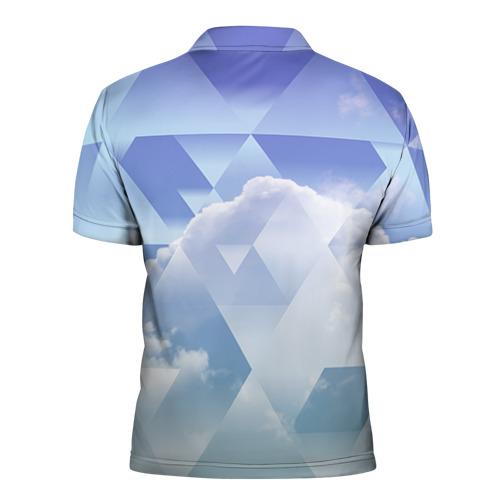 Мужская рубашка поло 3D  Фото 02, Геометрия 5