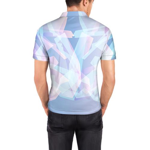 Мужская рубашка поло 3D  Фото 04, Геометрия 4