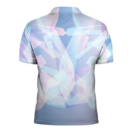 Мужская рубашка поло 3D  Фото 02, Геометрия 4