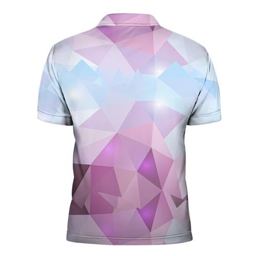 Мужская рубашка поло 3D  Фото 02, Геометрия 2