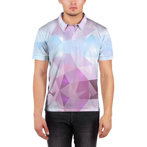 Мужская рубашка поло 3D  Фото 03, Геометрия 2