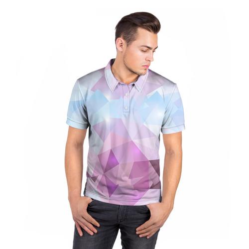 Мужская рубашка поло 3D  Фото 05, Геометрия 2