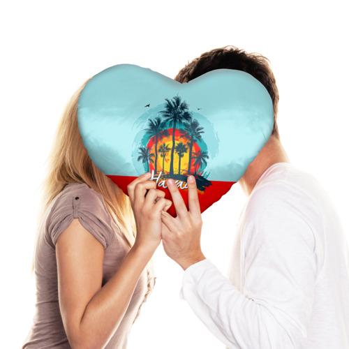 Подушка 3D сердце  Фото 03, HAWAII 6