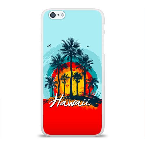 Чехол для Apple iPhone 6Plus/6SPlus силиконовый глянцевый  Фото 01, HAWAII 6