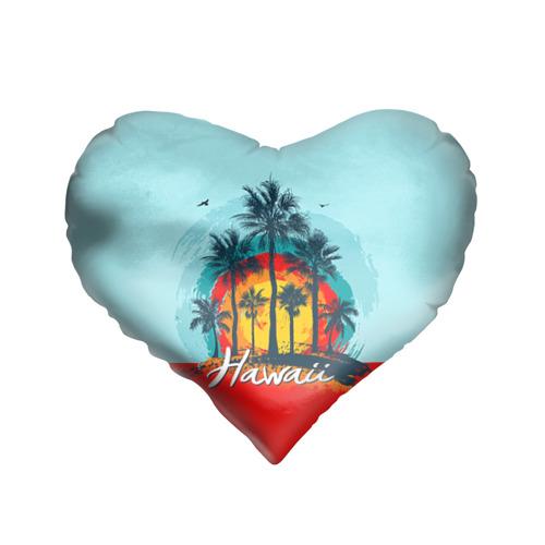 Подушка 3D сердце  Фото 01, HAWAII 6