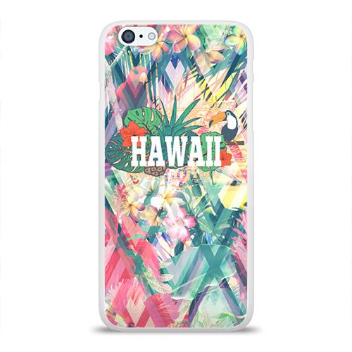 Чехол для Apple iPhone 6Plus/6SPlus силиконовый глянцевый  Фото 01, HAWAII 5