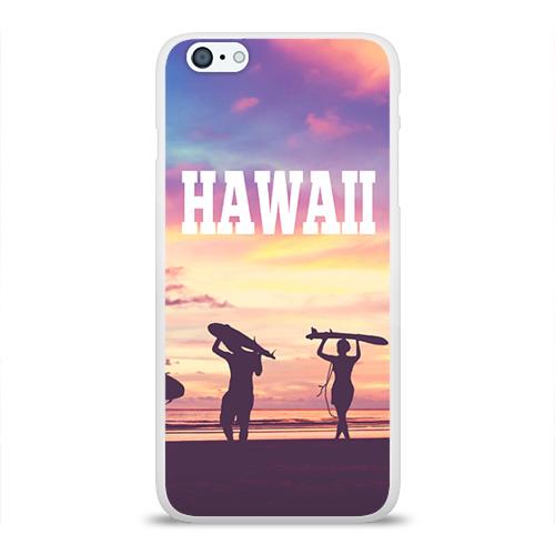 Чехол для Apple iPhone 6Plus/6SPlus силиконовый глянцевый  Фото 01, HAWAII 3