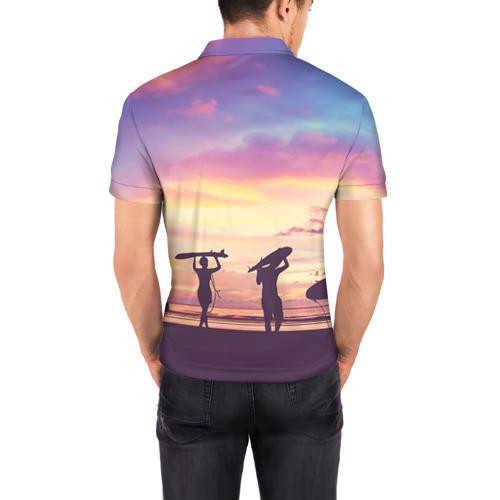 Мужская рубашка поло 3D  Фото 04, HAWAII 3