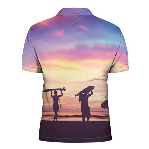 Мужская рубашка поло 3D  Фото 02, HAWAII 3
