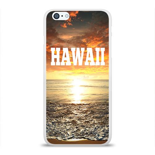 Чехол для Apple iPhone 6Plus/6SPlus силиконовый глянцевый  Фото 01, HAWAII 1