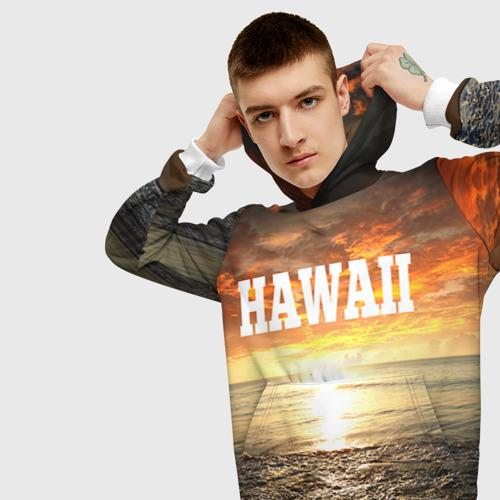 Мужская толстовка 3D  Фото 01, HAWAII 1