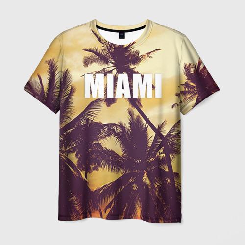 Мужская футболка 3D MIAMI