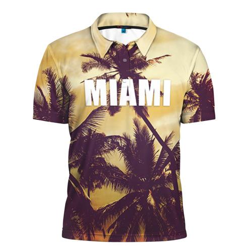 Мужская рубашка поло 3D MIAMI