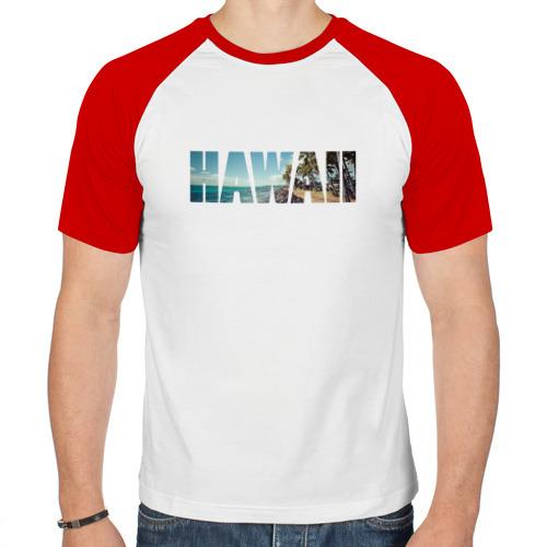 Мужская футболка реглан  Фото 01, HAWAII 8