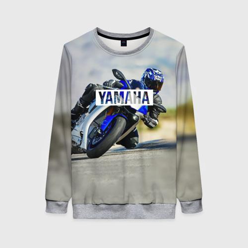 Женский свитшот 3D Yamaha 5 Фото 01