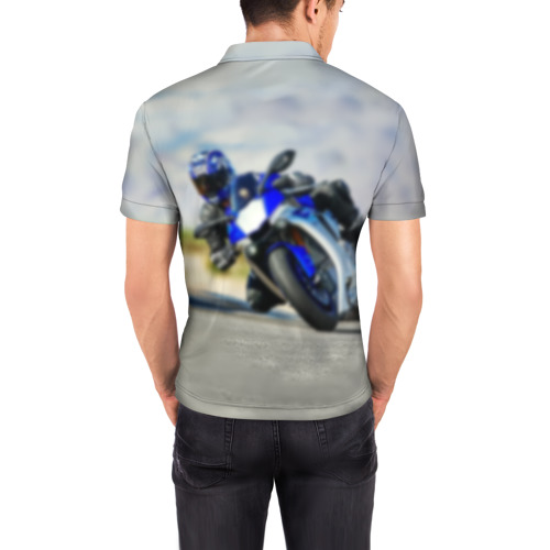 Мужская рубашка поло 3D  Фото 04, Yamaha 5