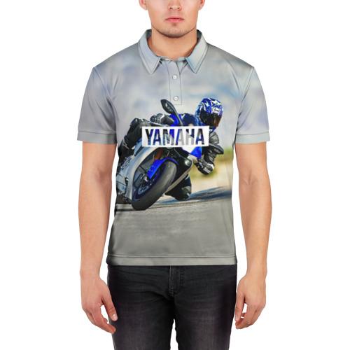Мужская рубашка поло 3D  Фото 03, Yamaha 5