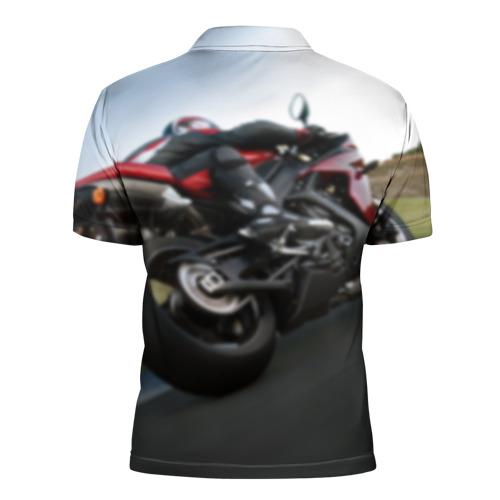 Мужская рубашка поло 3D  Фото 02, Yamaha 4