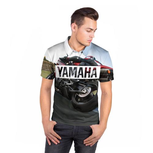 Мужская рубашка поло 3D  Фото 05, Yamaha 4