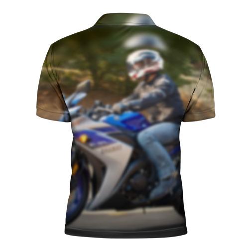 Мужская рубашка поло 3D  Фото 02, Yamaha 3