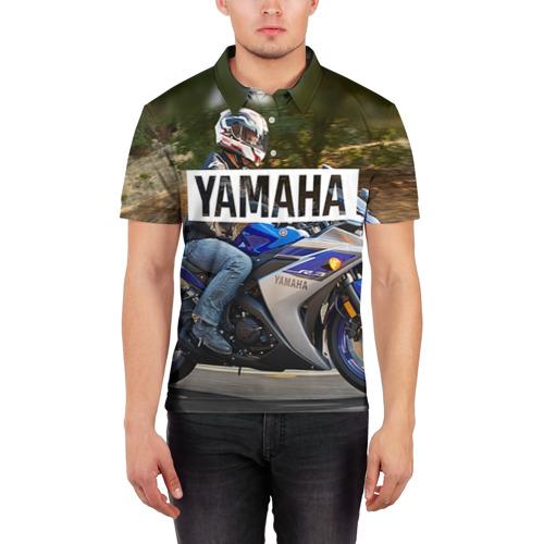 Мужская рубашка поло 3D  Фото 03, Yamaha 2