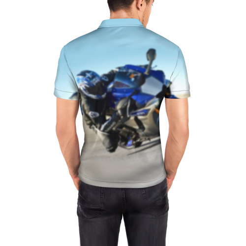 Мужская рубашка поло 3D  Фото 04, Yamaha