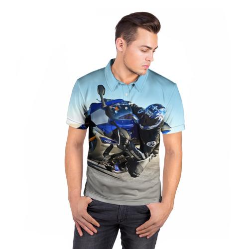 Мужская рубашка поло 3D  Фото 05, Yamaha