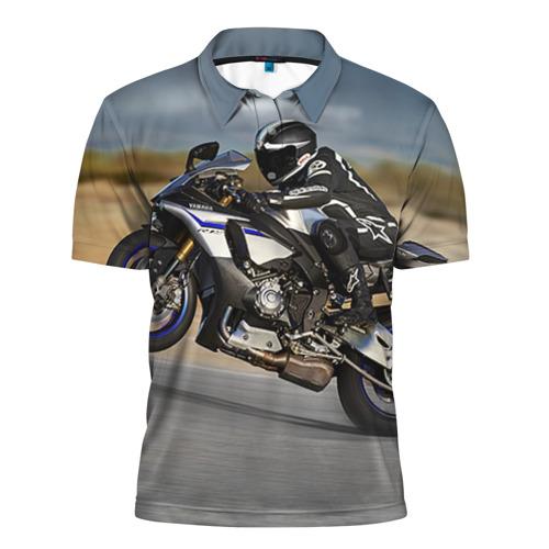 Мужская рубашка поло 3D  Фото 01, Yamaha 1