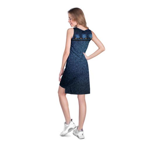 Платье-майка 3D  Фото 04, Джинс