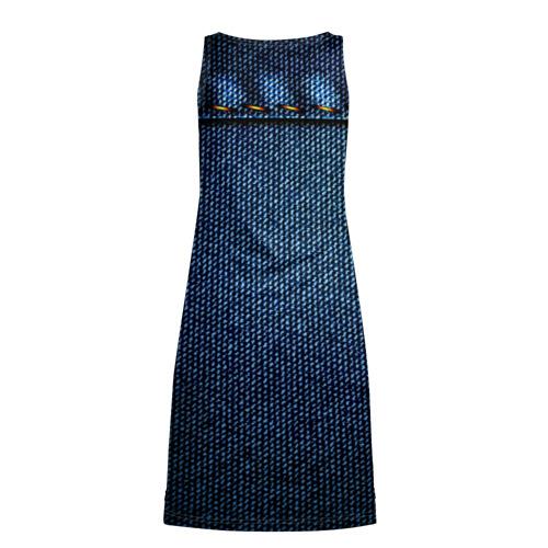 Платье-майка 3D  Фото 02, Джинс