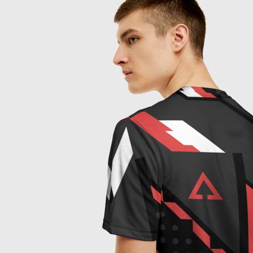 Мужская футболка 3D CSGO Cyrex Pattern Фото 01