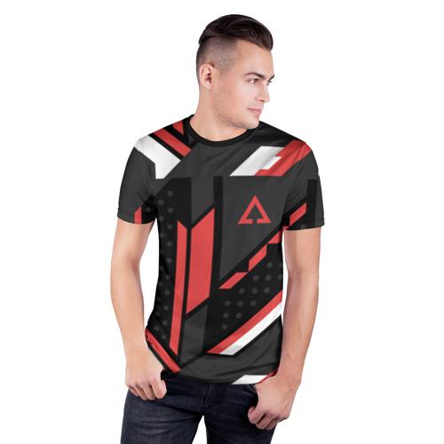 Мужская футболка 3D спортивная CSGO Cyrex Pattern Фото 01