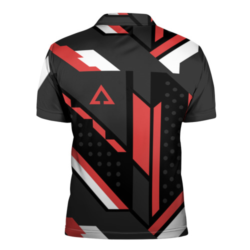 Мужская рубашка поло 3D CSGO Cyrex Pattern Фото 01