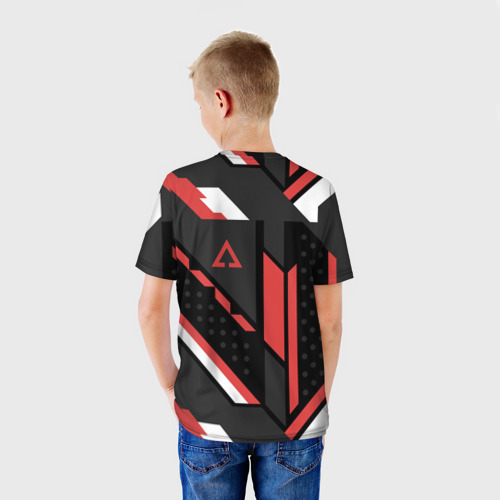 Детская футболка 3D CSGO Cyrex Pattern Фото 01
