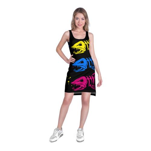 Платье-майка 3D  Фото 03, Рыбалка
