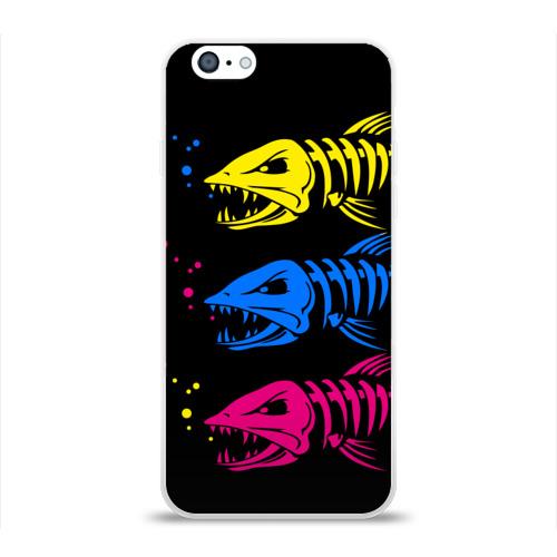 Чехол для Apple iPhone 6 силиконовый глянцевый  Фото 01, Рыбалка