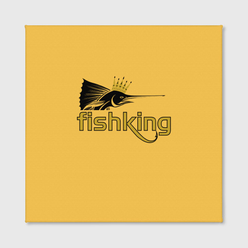 Холст квадратный  Фото 02, Рыбалка