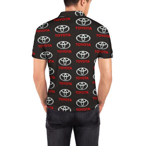 Мужская рубашка поло 3D  Фото 04, Toyota