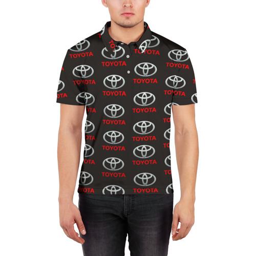 Мужская рубашка поло 3D  Фото 03, Toyota