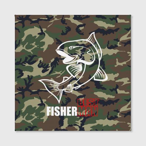 Холст квадратный  Фото 02, Лучший рыбак