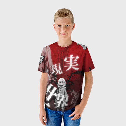 Детская футболка 3D  Фото 01, Вечная тайна