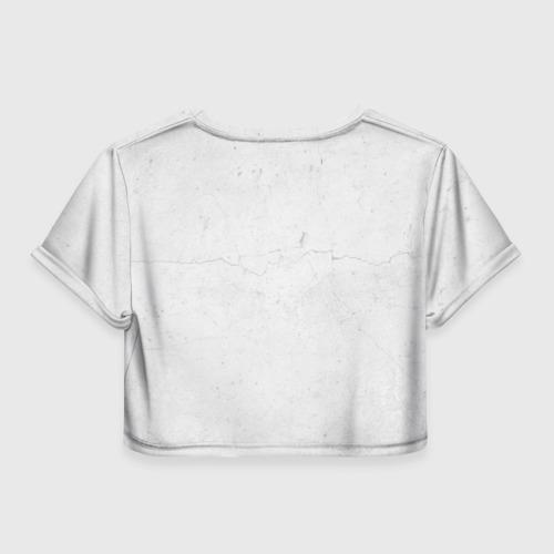 Женская футболка 3D укороченная  Фото 02, Titan