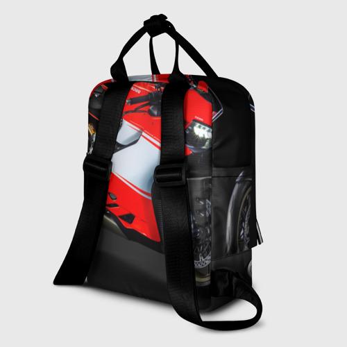 Женский рюкзак 3D Ducati Фото 01