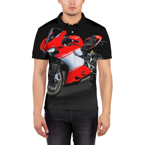 Мужская рубашка поло 3D  Фото 03, Ducati
