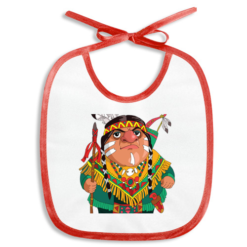 Слюнявчик  Фото 01, Забавные Индейцы 10